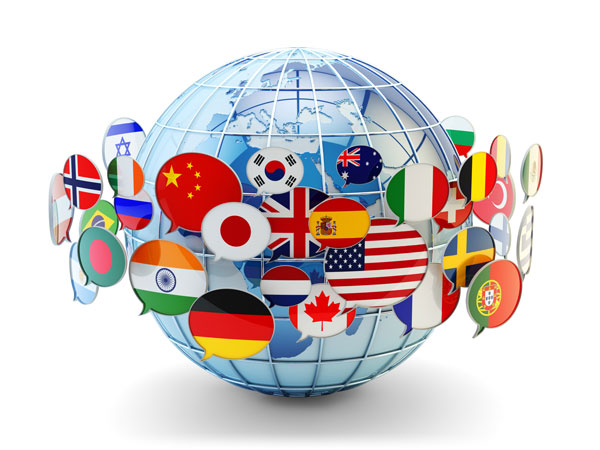 World Languages Globe