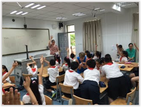 Hankou Primary School China Classroom