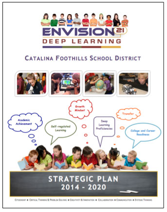 Catalina Foothills School District. Envision 21 Deep Learning. Strategic Plan 2014-2020.