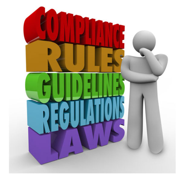 Compliance, Rules, Guidelines, Regulations, Laws