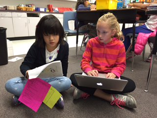 Two Collaborating Students