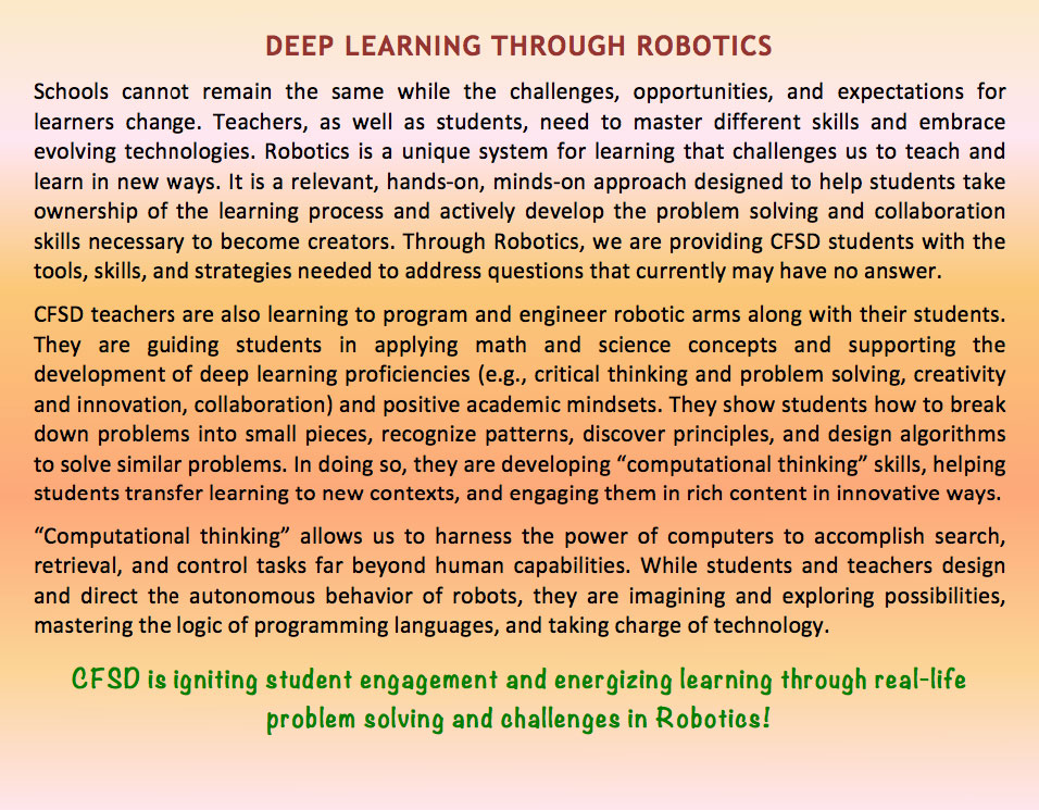 Deep Learning Through Robotics