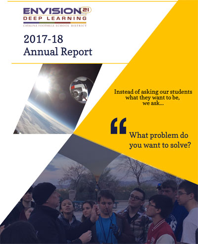 CFSD Annual Report Cover