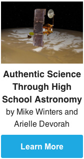 Authentic Science Through High School Astronomy by Mike Winters and Arielle Devorah