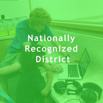 P21 - Partnership for 21st Century Learning Exemplar District  National Recognition Achieved by Few Districts